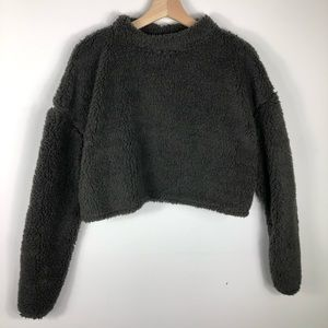 Teddy Bear Crop Sweater